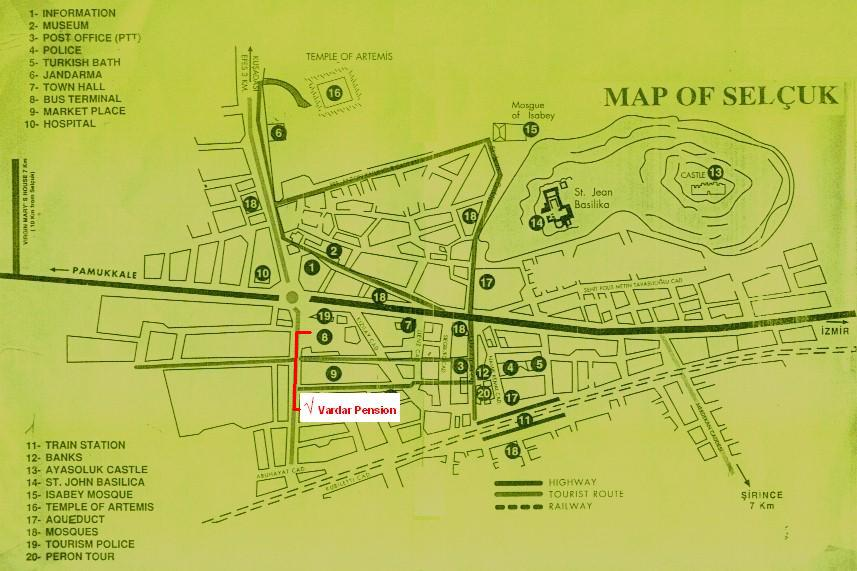 Map of seluk